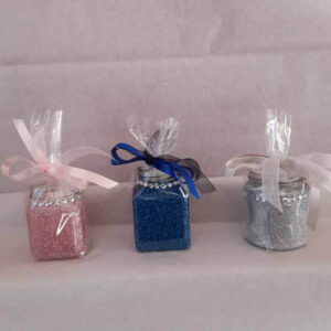 All Small Sweet Glittered Jars