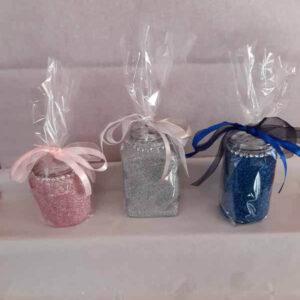 Mixed Medium Sweet Glittered Jars