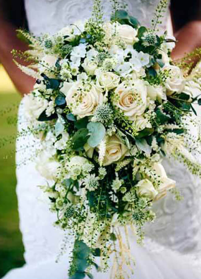 Wedding Bouquets at Timeless Flowers and Treats