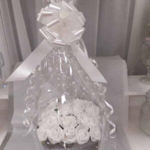 champagne artificial hatbox
