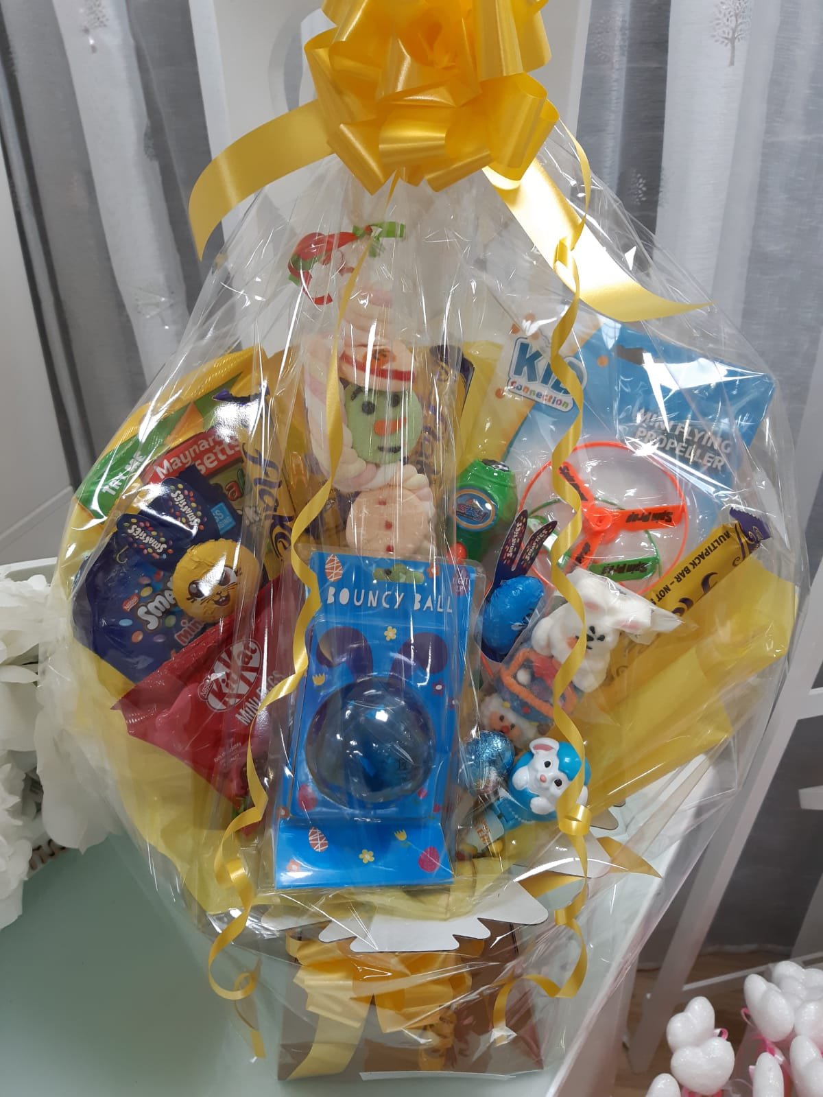 Gifts Easter hamper all mixed chocolate sweets activity